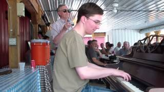 Adam Swanson CAROLINA SHOUT |Central PA Ragtime Festival|June 22 2013|street piano