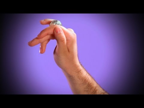 How To Do The Coin Rolling Trick   Coin & Card Magic