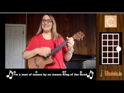 King of the Road Ukulele Tutorial - 21 Songs in 6 Days: Learn Ukulele the Easy Way