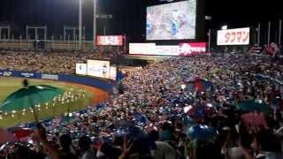 Tokyo Yakult Swallows umbrella dance