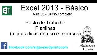 Curso Excel #06 - O Que é Uma Planilha - Módulo Básico