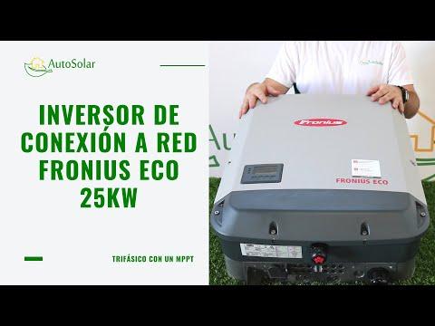 Inversor Conexión a Red Fronius ECO 25kW