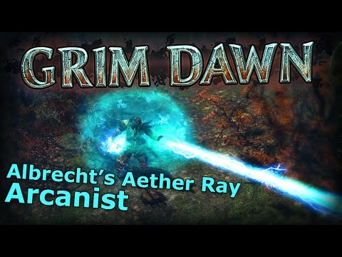 Grim Dawn - Albrecht's Aether Ray, Now With Thermite Mines
