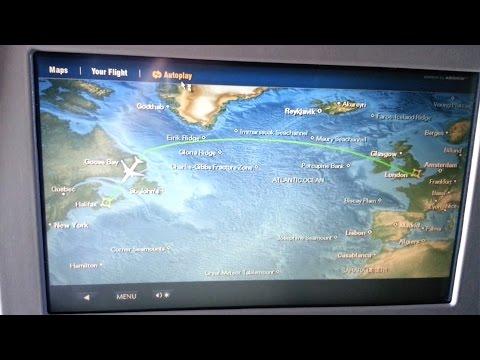AirCanada Fly Over Canada - Nova Scotia (HD)