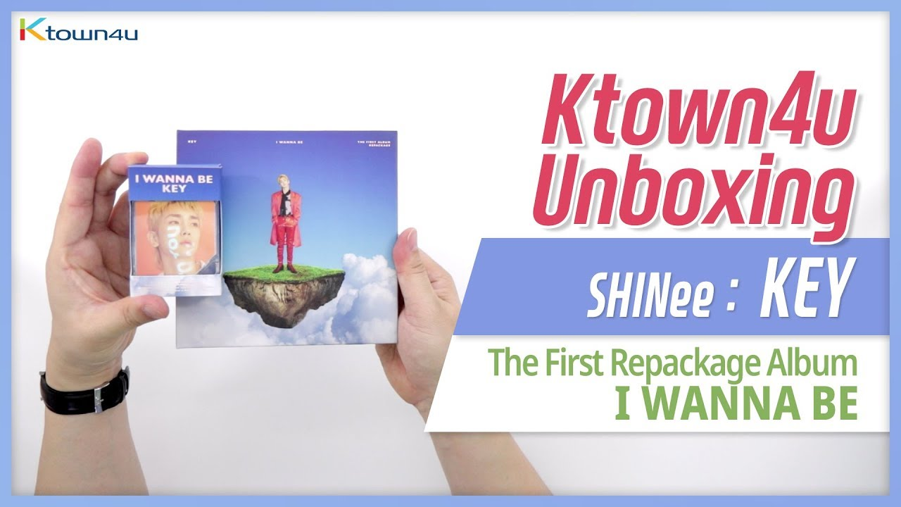 Unboxing SHINee: KEY 1st Repackage Album [I WANNA BE] シャイニー