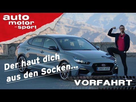 HYUNDAI i30 Fastback N PERFORMANCE: Die anderen haben Tanzverbot! Vorfahrt | auto motor und sport