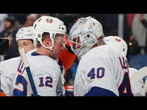 Robin Lehner Shuts Down Sabres: Highlights & Analysis | New York Islanders Postgame