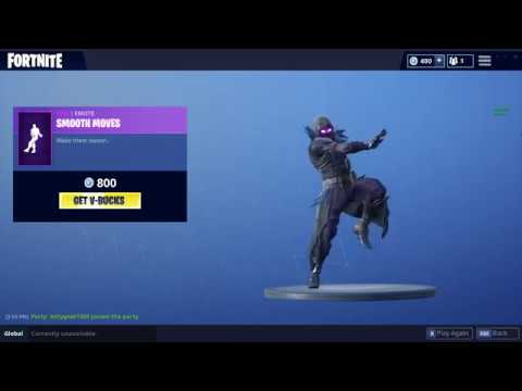 Smooth Moves Fortnite Battle Royale Emote Youtube
