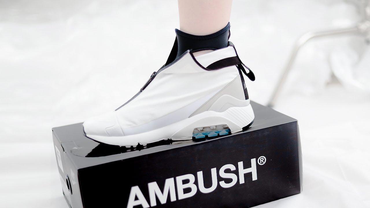 Still Worth It? AMBUSH X NIKE AIR MAX 180 | First Impressions On Feet Fit