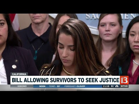 Aly Raisman joins USC sexual assault survivors