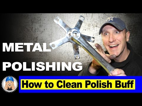 How to Clean and Polish Metal to Mirror Finish
