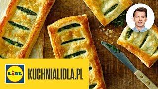 WYTRAWNE CIASTKA Z FETĄ I SZPINAKIEM  | Karol Okrasa & Kuchnia Lidla
