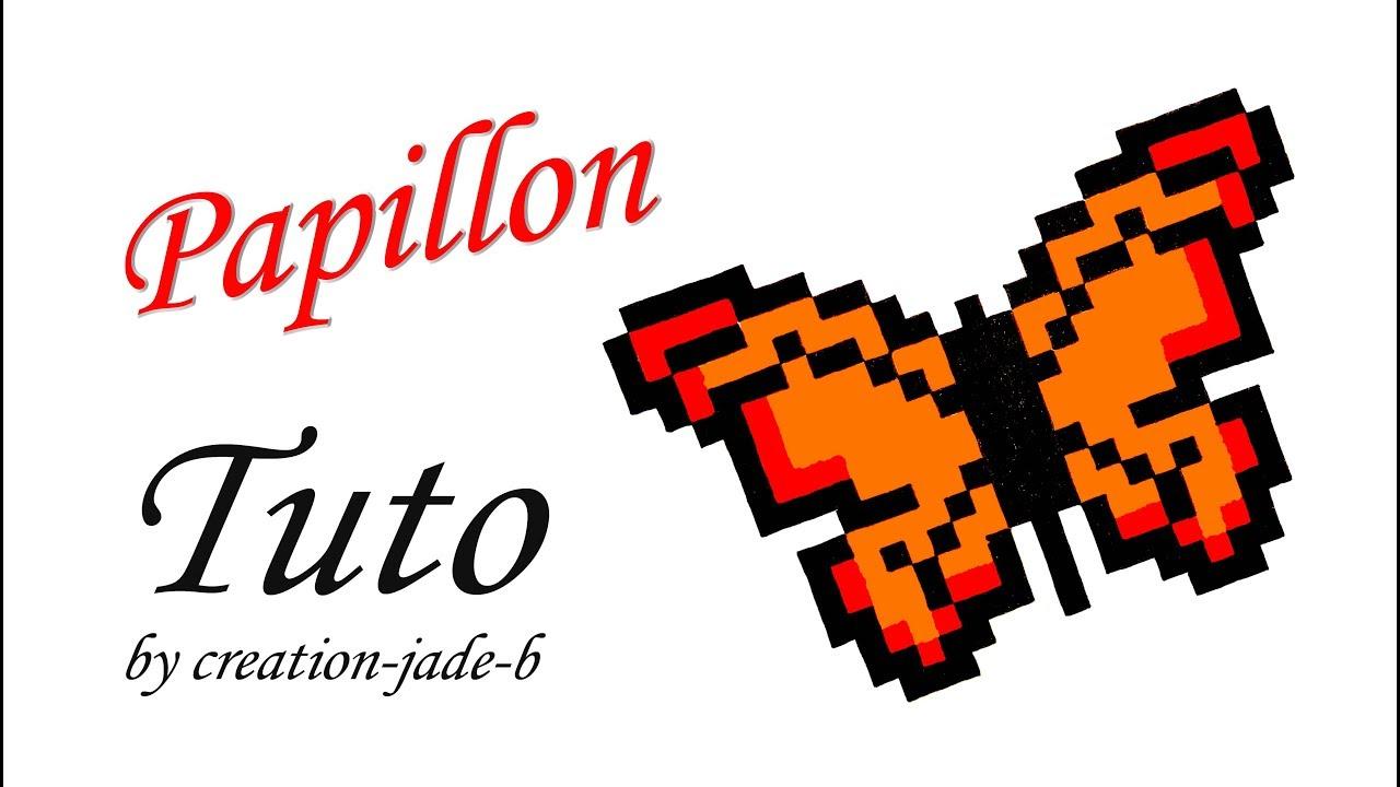 Tuto Pixel Art Papillon Format Fiche Bristol