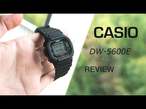 Casio G-SHOCK DW-5600E-1V Review