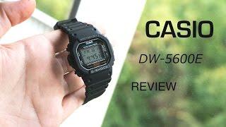 Casio G-SHOCK DW-5600E-1V Review