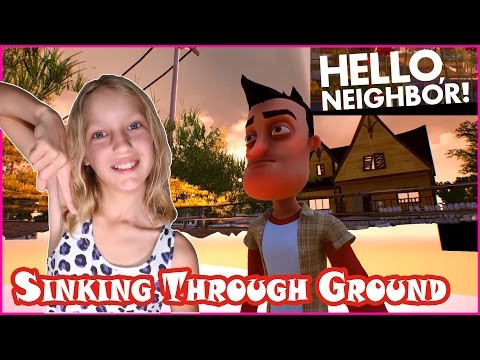 Sinking Through the Ground in Hello Neighbor