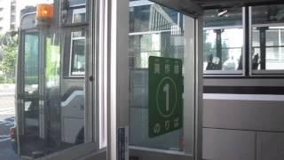 宇野バス【林野駅ゆき】表町バスセンター1番のりば発車