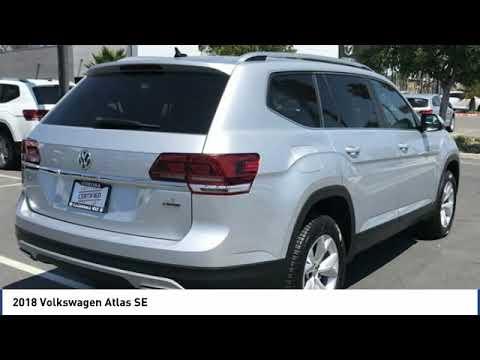2018 Volkswagen Atlas 2018 Volkswagen Atlas SE FOR SALE in Corona, CA VP3801R