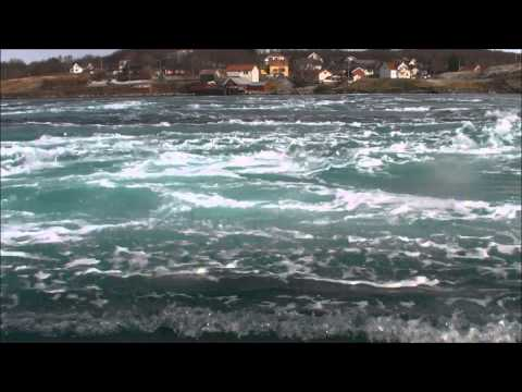 Riding the whirlpools of the world's strongest tidal current at Saltstraumen, Norway
