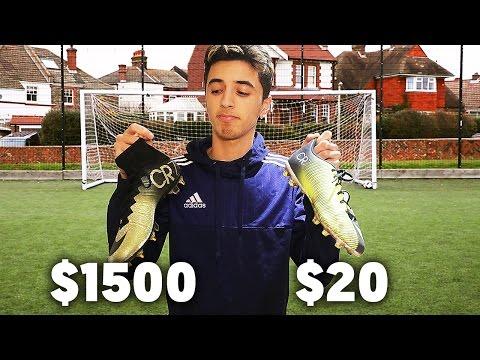 $20 Vs. $1500 FOOTBALL BOOTS!!!