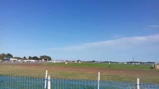 Lincolnshire Poacher 2017 Grasstrack 1000cc sidecar racing A final