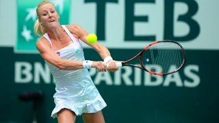 Urszula Radwanska vs Magdalena Rybarikova Istanbul 2015 Highlights