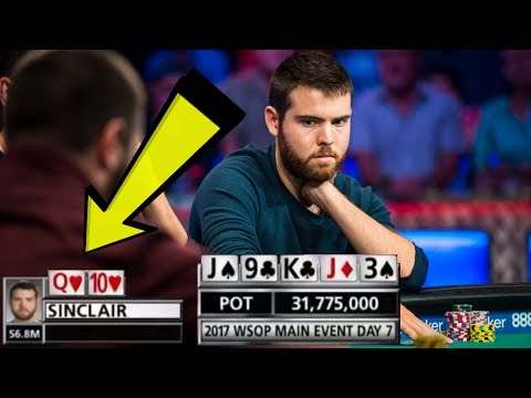 Is He Really FOLDING A STRAIGHT In The MAIN EVENT?!