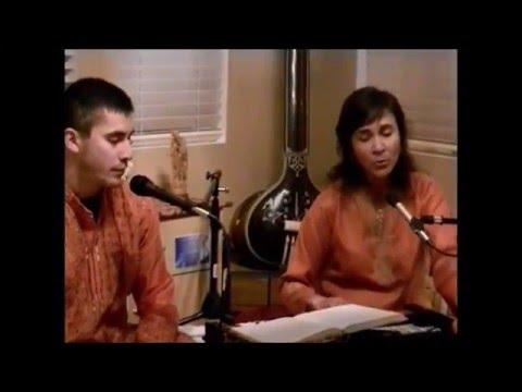 Hey Prabhu Tum Sab Antaryami by jayati  and Anand 1 10 2016