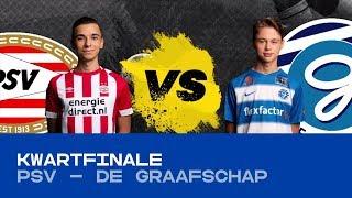 EDIVISIE | Kwartfinale PSV - De Graafschap