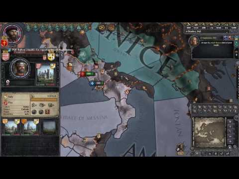 *PSI Live* - Crusader Kings II [Multiplayer] (Patricians of Amalfi) - Part 4: Republican Conquest