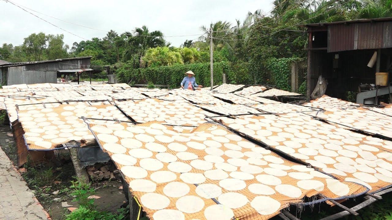 Sông nước miệt vườn: Nếm Thử Bánh phồng Phú Mỹ – Đặc Sản Miền Tây