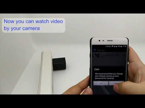 Wifi Charger Spy Camera Instruction Video