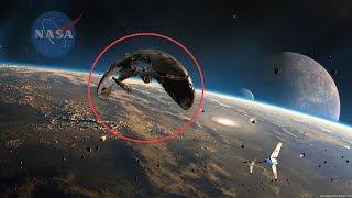EXTRAÑO OBJETO es CAPTADO en el ESPACIO (NASA CORTA TRANSMISIÓN EN VIVO) 2016