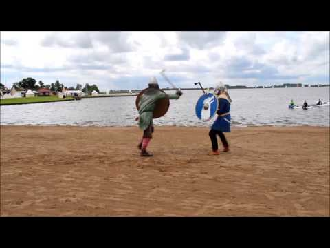 Kai and Jan  - early medieval vikings and frisians