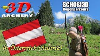 3D Archery in Austria   Schosi3D Bogenparcours