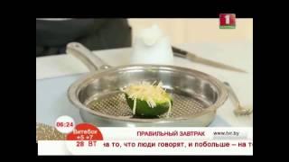 Запеченое в авокадо яйцо с сыром
