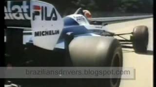NÉLSON PIQUET BRABHAM FORMULA 1 & TEST BMW M6 E24