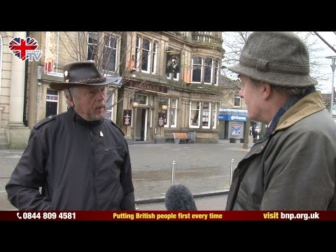 BNP Councillor abused by Islamist