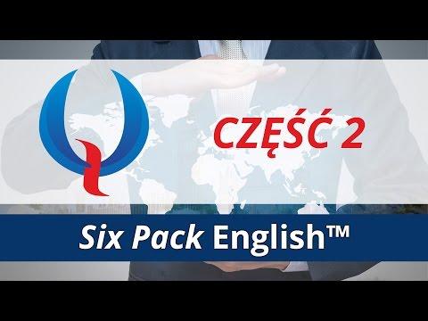 Six Pack English (część 2) - pytania, czasowniki nieregularne, negacje w języku angielskim