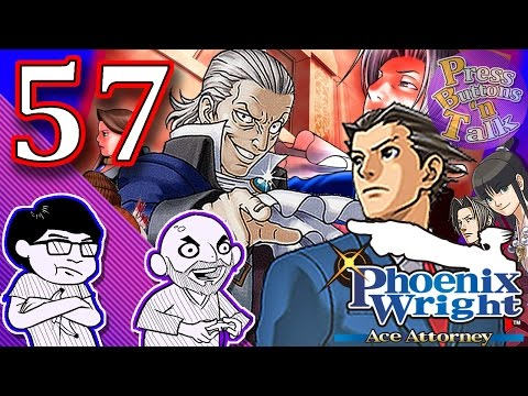 Phoenix Wright: Ace Attorney, Ep. 57: Outstanding Publicity - Press Buttons 'n Talk