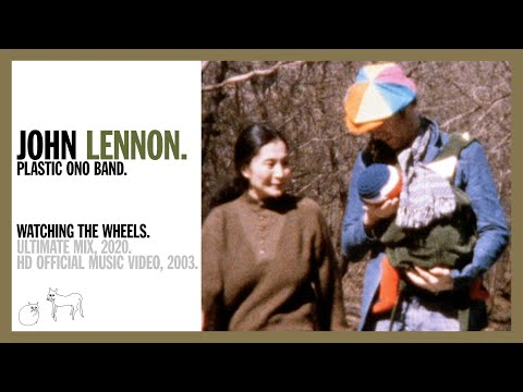 WATCHING THE WHEELS. (Ultimate Mix, 2020) - John Lennon (official music video HD)
