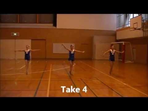 Candy Man-Baton Twirling Performanc