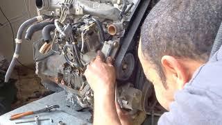 فيديو يوضح كيفية تبديل محرك سيارة كهربابي الى عادى