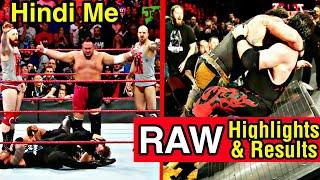 WWE RAW - 11122017 Full Highlights  Results HD  Kane VS Braun Strowman