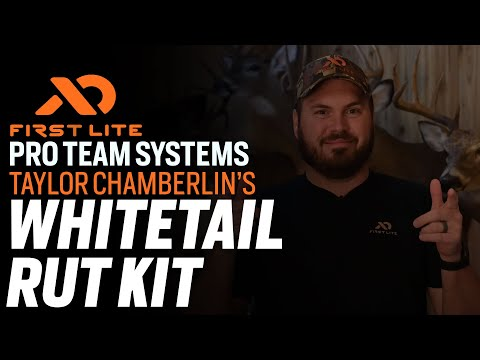 First Lite Pro Systems: Taylor Chamberlin's Midseason Whitetail Hunting Kit