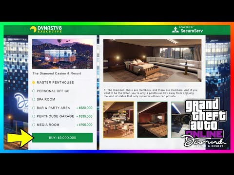 GTA 5 Online The Diamond Casino & Resort DLC Update - How Much Money You'll Need To Buy EVERYTHING!
