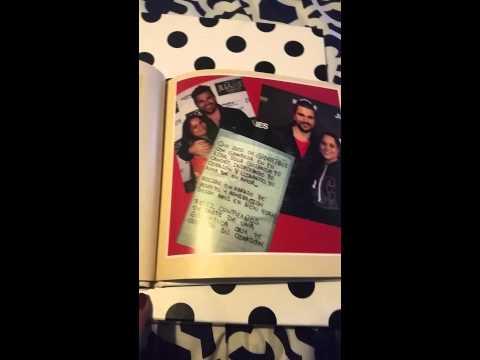 Juanes fans around the world birthday book