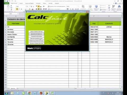 Sistema Orçamento Gráfico Calc Facil