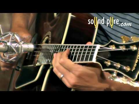 Keith Ganz plays an Eastman AR804CE Archtop Guitar