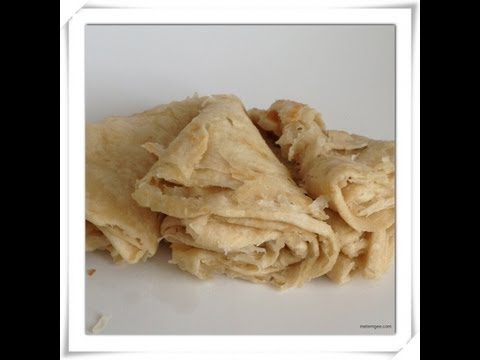 How to make Guyanese Paratha (oil) Roti
